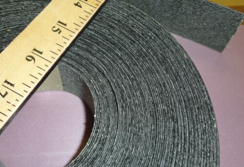 "Black melamine edgebanding roll 1.5/"" x 120/"" inch with preglued hot melt adhesive"