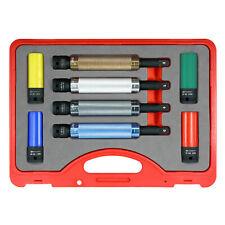 Powerbuilt 8 Piece Torque Limiting Extension Bar And Lug Nut Socket Set 240258