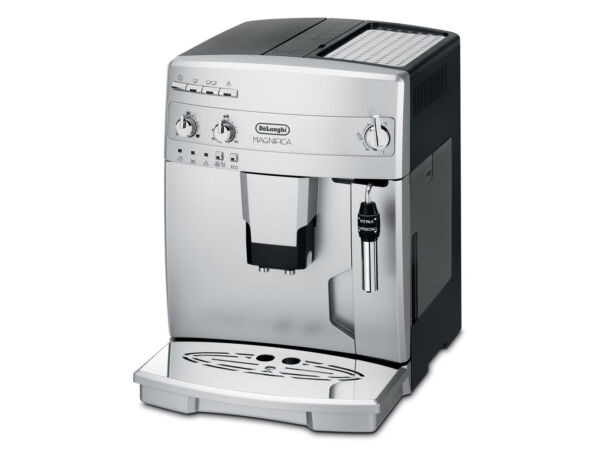 delonghi magnifica esam silber 14 tassen kaffeevollautomat ebay. Black Bedroom Furniture Sets. Home Design Ideas