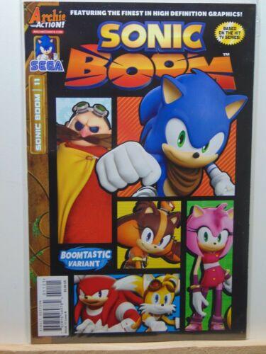 Sonic Boom #11 Boomtastic Variant Archie Action Sega Comics CB7592