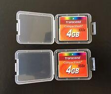 Transcend 4GB CompactFlash I Card - Retail - TS4GCF133