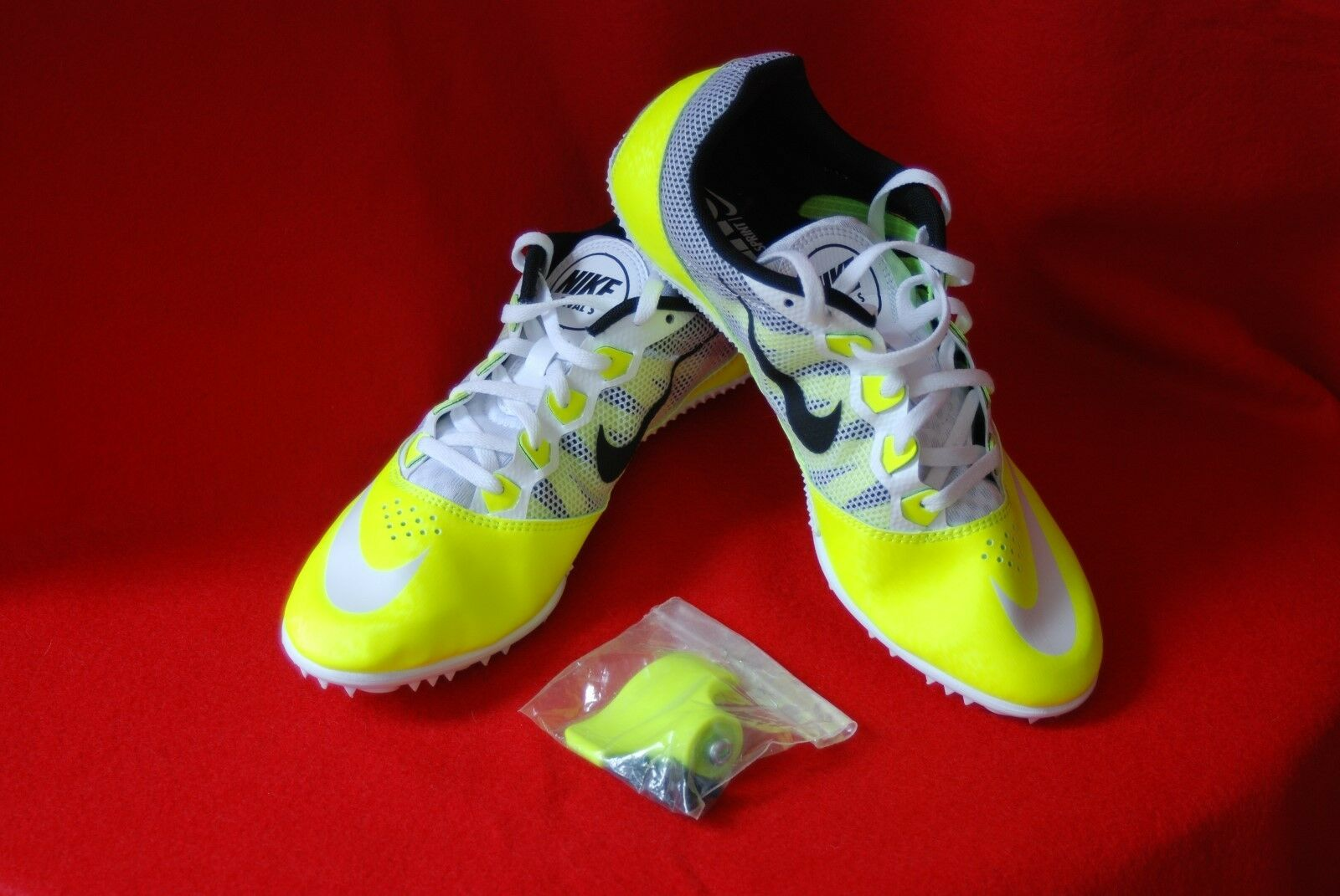 Nike Zoom Rival S 7 Men's Running Track Spikes  616313- 702 Size 11.5 NWOB