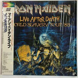 IRON-MAIDEN-Live-After-Death-World-Slavery-Tour-85-JAPAN-Laser-Disc-LD-96LS-2004