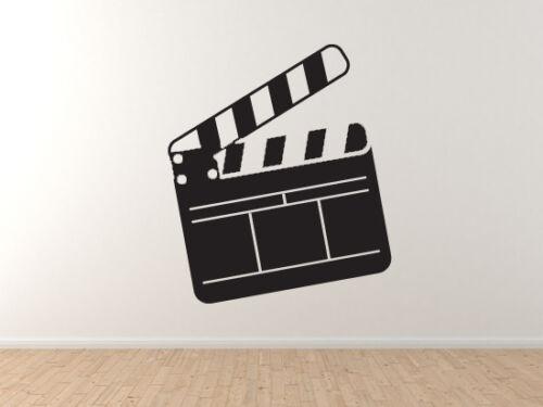 Vinyl Wall Decal Film Slate Clapper Board Cinema Home Theater Part 9