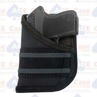 Ace Case Black Pocket Concealment Holster Fits Beretta Tomcat Made In U.s.a.