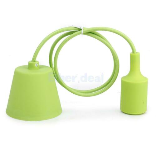 Kabel mit Fassung Lampenfassung E27 Sockel Lampenhalter 1M Kabel Art-Deco