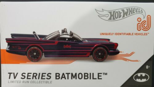 2020 Hot Wheels ID Car TV Series Batmobile Series 1 RARE VHTF!