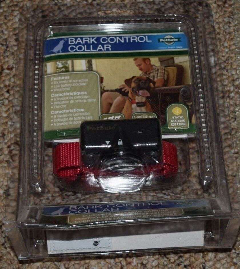 BRAND NEW PetSafe Bark Control Collar 6 Level Static Correction HBC11-11050
