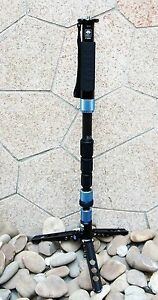 Sirui P-224SR P-224S R Carbon Fiber Monopod w/Mini Tripod
