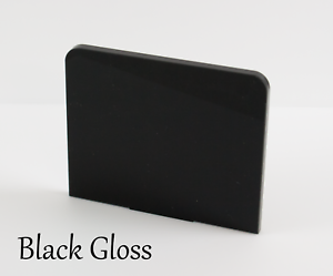 3mm /& 5mm BLACK GLOSS ACRYLIC SHEETS IN 2mm