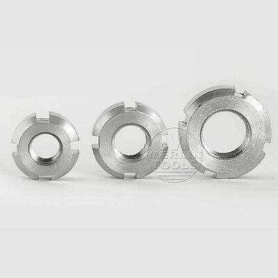 Select Size M10 M90 Right Hand Fine Thread Nylon Locknut Slotted Castle Nut