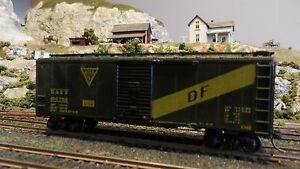 Athearn-HO-BB-40-039-Boxcar-GAEX-Upgraded-EXC