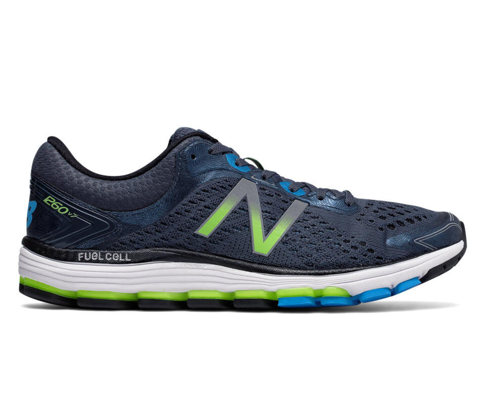 New Balance M1260BB7 Men's 1260v7 Thunder Black Running Shoes Athletic Footwear