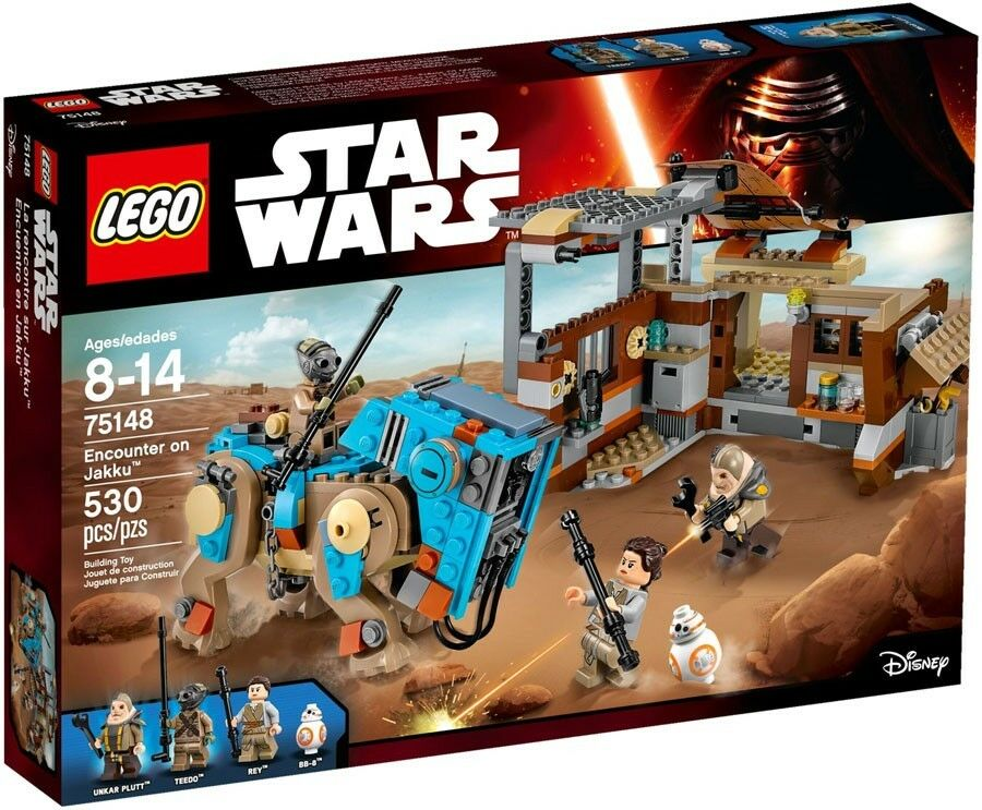 LEGO Star Wars The Force Awakens Encounter on Jakku Set  75148
