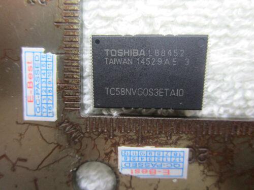 1x TC58NV TC58NVGOS3ETAI0 TC58NVG0S3ETA10 TC58NVG0S3ETAIO TC58NVG0S3ETAI0 TSOP48