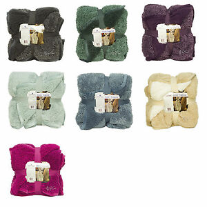 Image Is Loading NEW WARM ULTRA SOFT CUDDLY CABIN SHERPA THROW