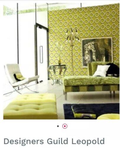 Designers Guild Leopold Wallpaper P525//03 Geometrical NEW RRP £112