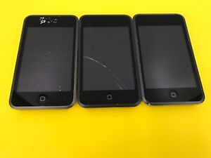 Lot of 3 Apple iPod Touch 1st Gen A1213 As Is For Parts #tptp 8GB