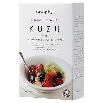 Kuzu Root Starch Box (125g) - CLEARSPRING WHOLEFOODS