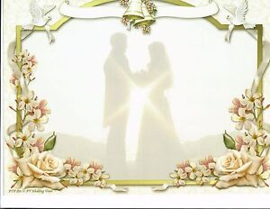 Details About Wedding Doves Hands Chapel Couples Orchid Print Personalized 2 Name Art