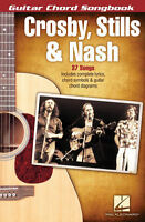 Crosby Stills & Nash Guitar Chord Songbook Sheet Music Guitar Chord So 000701609