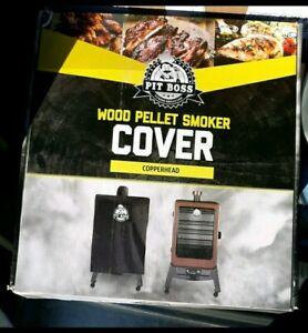 PIT BOSS COPPERHEAD Weatherproof Black Wood Pellet Smoker ...