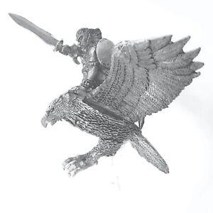Wood-Elf-Eagle-Rider-Hero-Warhammer-Fantasy-Armies-28mm-Unpainted-Wargame