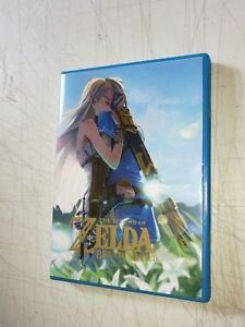 Legend-of-Zelda-Breath-of-the-Wild-Custom-Cover-Case-Nintendo-Wii-U-NO-GAME