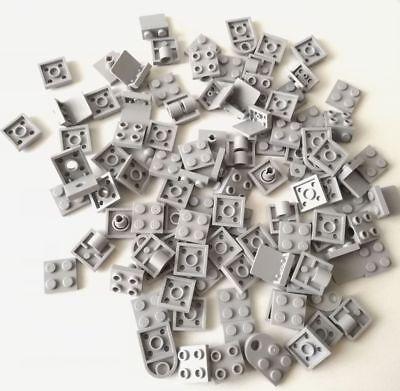 Lego 100x Piastre 2x2 Grigio Chiaro Plate Lotto Set Kg Sped Gratis Su + Acquisti Attraente E Durevole