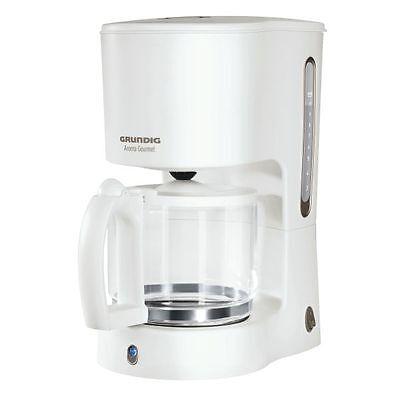 Grundig KM 4260  Kaffeemaschine Kaffeeautomat  10 Tassen  Weiß
