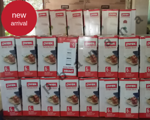 Pyrex-6-PC-Simply-Store-Rectangular-Food-Storage-Set-FREE-Shipping-Brand-New