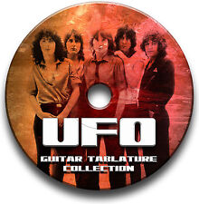UFO HEAVY ROCK GUITAR TABS TABLATURE SONG BOOK SOFTWARE CD