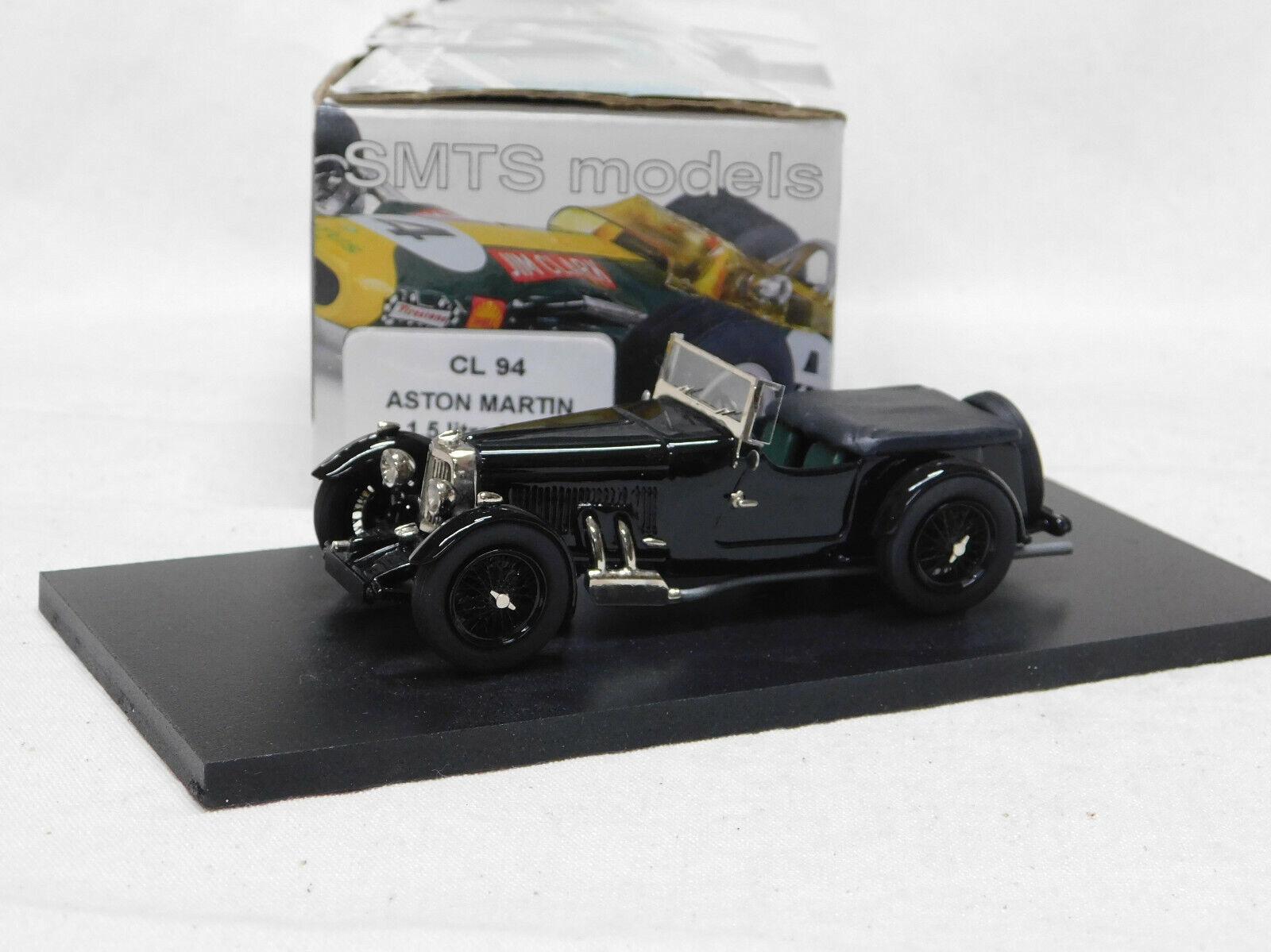 1 43 CL94 ASTON MARTIN 1.5 litre Mk.2 black black  BY SMTS