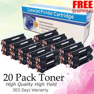 20 PK CRG128 Toner For Canon 128 FaxPhone L100 L190 Imageclass D530 D550 Printer