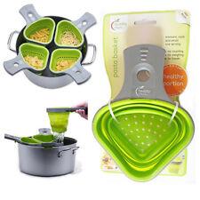Cesta cocina sano pasos Pasta Control De Porciones verde silicona de herramientas de cocina
