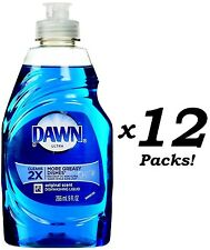 Dawn Ultra Dish Washing Liquid Soap Dishwashing Original Scent 9 Oz Each 12 Pack
