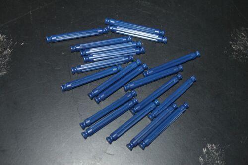 Tige K/'NEX 54mm Bleu foncé x 10 pièces détachées K/'NEX jeux de construction
