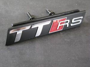 S6 Grill Badge S Line TT Quattro Black Audi Sport