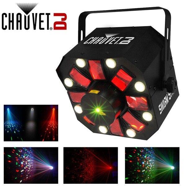Chauvet Swarm 5 FX 3-in-1 LED Disco Lighting Effect Laser Strobe Derby DMX