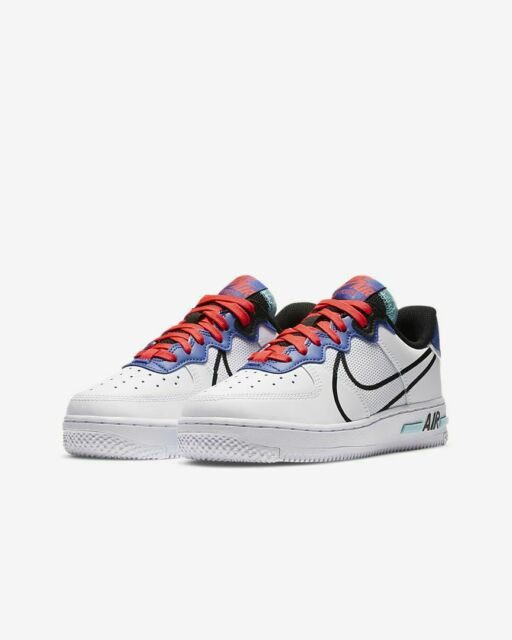 Nike Air Force 1 React Grade School US Size 7 Y Style # Cd6960-101 ...