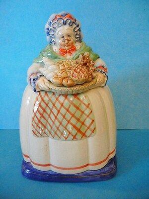 Fitz and Floyd Old Lady Grandma Baker Cookie Jar (LOCAL PICKUP ...