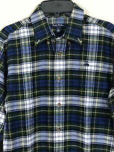 Brooks-Brothers-Boys-039-Size-L-Long-Sleeve-Flannel-Dress-Shirt-NWT