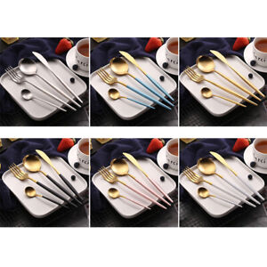 4-Piece-Stainless-Steel-Knife-Fork-Spoon-Portable-Travel-Camping-Cutlery-Set