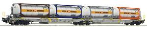 Roco-H0-76438-Doppeltaschen-Gelenkwagen-T2000-034-Bertschi-034-der-AAE-NEU-OVP