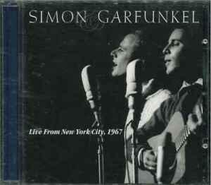 SIMON-GARFUNKEL-034-Live-From-New-York-City-1967-034-CD-Album