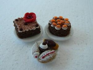 (c.6) Maison De Poupées Gâteaux: Handmade Cake Set-afficher Le Titre D'origine Ie5hrz1u-07182144-638781015