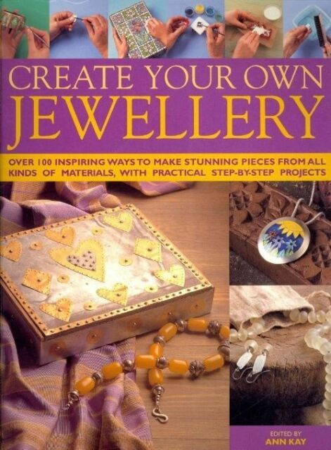 """""""AS NEW"""" , Edited, Create Your Own Jewellery, Hardcover Book"""