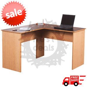 Computer Desk Workstation L Shape Corner Desk Executive