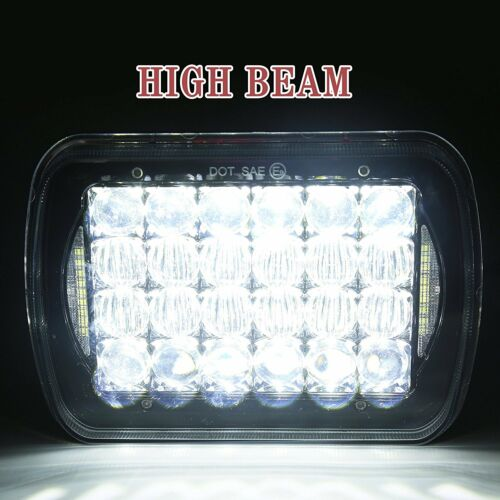 "Pair 5x7/"" 7x6/"" LED Headlights Bulbs for Chevy Express Cargo Van 1500 2500 3500"