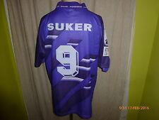 "Real madrid kelme saliente camiseta 1994-1996 ""Teka"" + nº 9 suker talla XL-XXL"